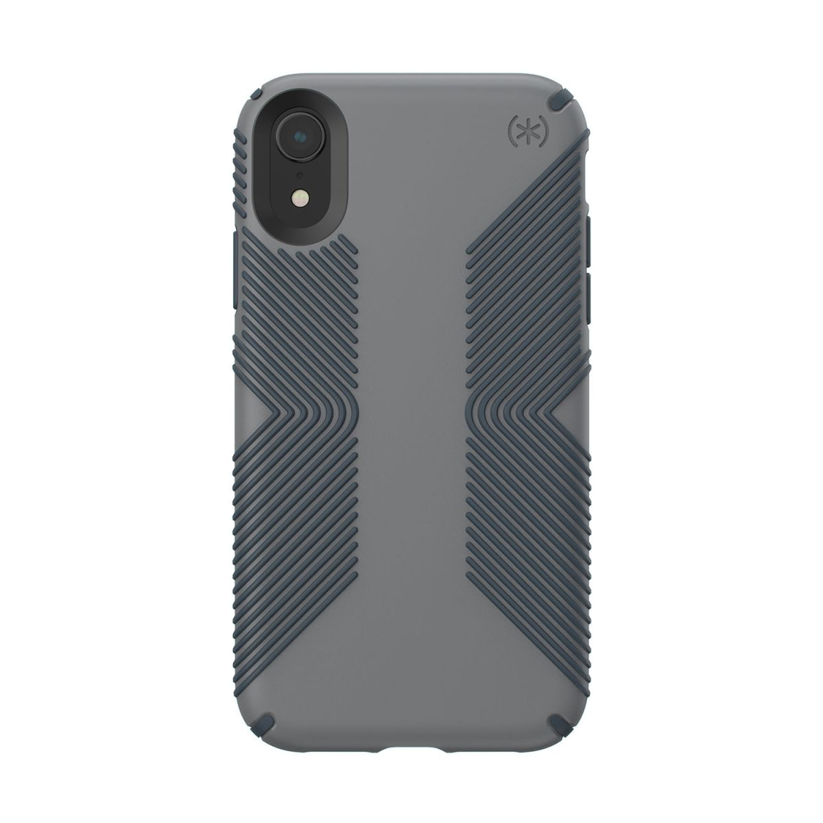 Carcasa iPhone XR Presidio Grip gri